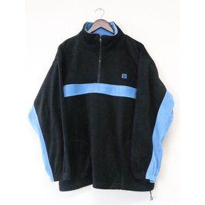 Vintage Wilson 1/4 Zip Sweater Large Sweatshirt